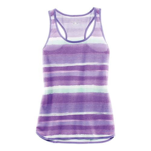 Womens Brooks Ghost Racerback Sleeveless & Tank Technical Tops - Dusk Scape M