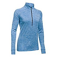 Womens Under Armour Tech 1/2 Zip Twist Long Sleeve Technical Tops