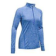 Womens Under Armour Tech 1/2 Zip Twist Long Sleeve Technical Tops