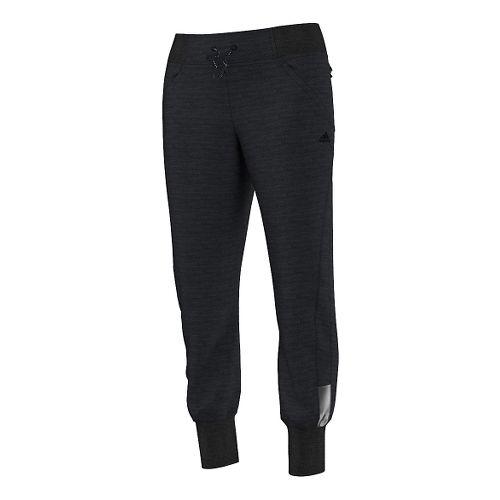 Womens adidas Supernova Beyond the Run Full Length Pants - Dark Grey L