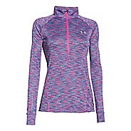 Womens Under Armour Tech Disruptive Space DyeLong Sleeve Half Zip Technical Tops