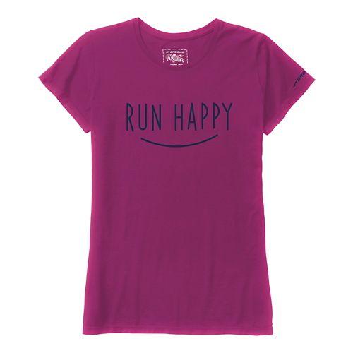 Women's Brooks�Run Happy Smile Tee