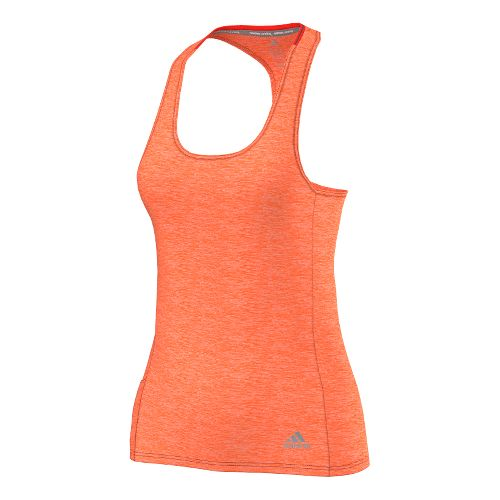 Womens adidas Supernova Fitted Tank Technical Tops - Solar Red S