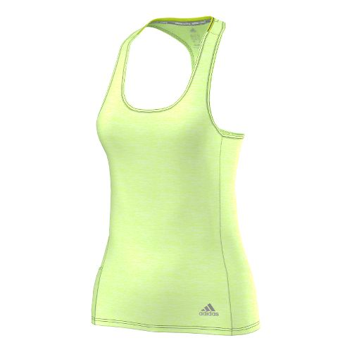 Womens adidas Supernova Fitted Tank Technical Tops - Frozen Yellow L