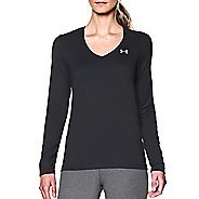 Womens Under Armour Tech Long Sleeve Technical Tops