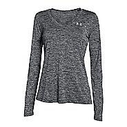 Womens Under Armour Twist Tech Long Sleeve No Zip Technical Tops