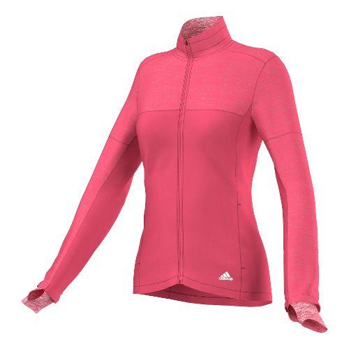 Womens adidas Supernova Storm Outerwear Jackets - Super Pink XL