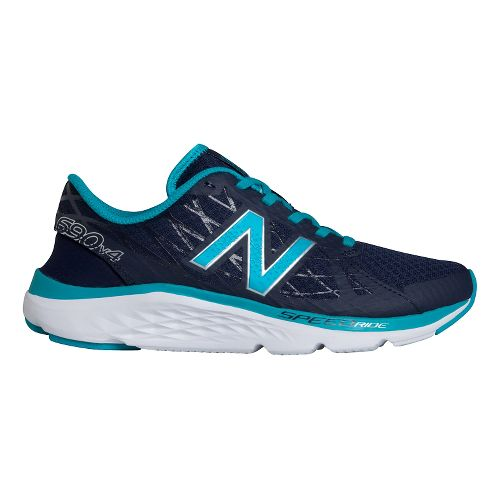 Womens New Balance 690v4 Running Shoe - Pigment/Sea Glass 8.5