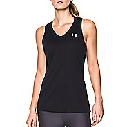 Womens Under Armour Tech Tank Heather Stripe Tank Technical Tops