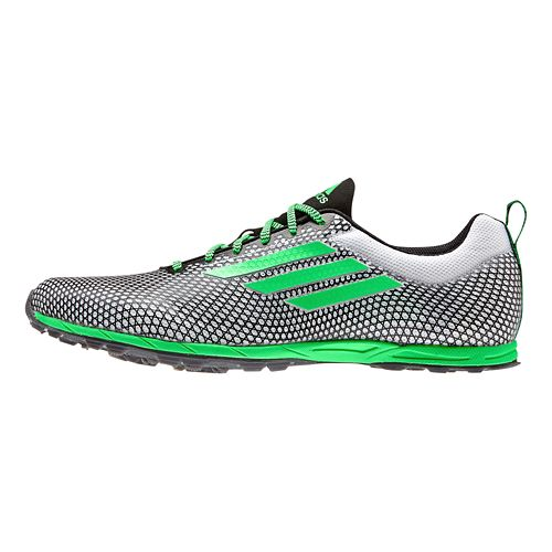 Mens adidas XCS 5 - Spikeless Cross Country Shoe - Black/White 7