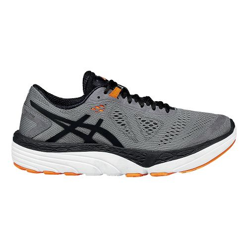 Mens ASICS 33-M 2 Running Shoe - Grey/Black 7.5