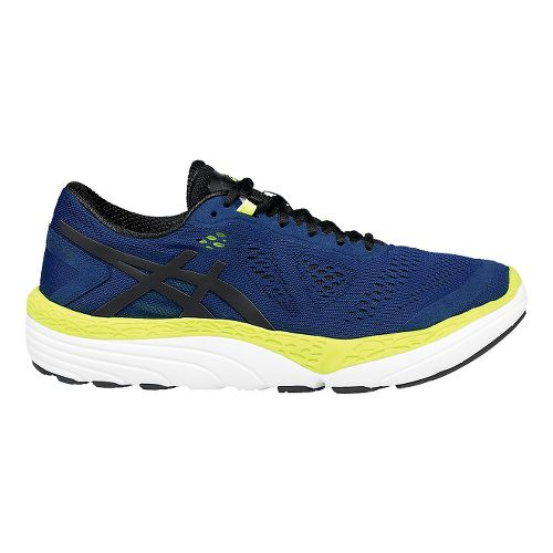 Mens ASICS 33-M 2 Running Shoe - Cobalt/Yellow 14