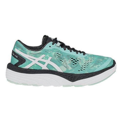 Womens ASICS 33-M 2 Running Shoe - Pool/Grey 7.5