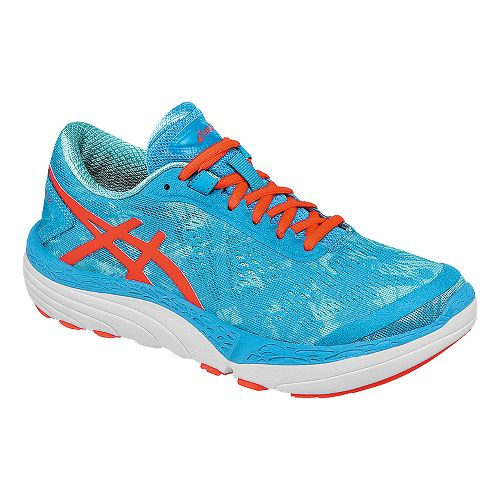 Womens ASICS 33-M 2 Running Shoe - Blue/Coral 11