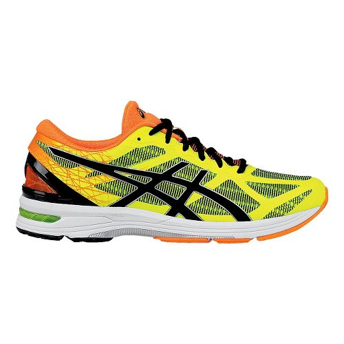 Mens ASICS GEL-DS Trainer 21 Running Shoe - Flash Yellow/Black 8