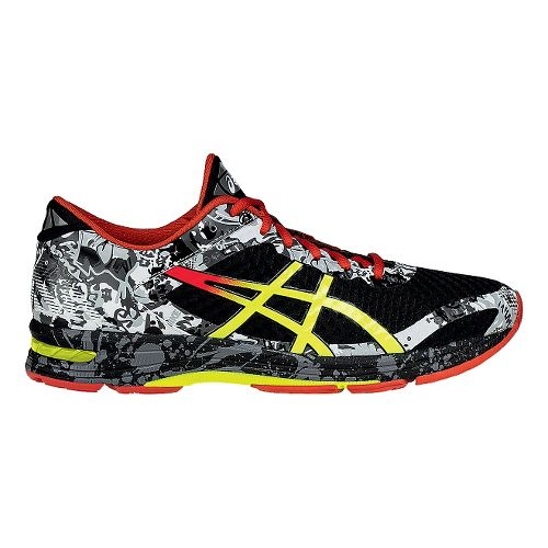 Mens ASICS GEL-Noosa Tri 11 Running Shoe - Black/Orange 11.5