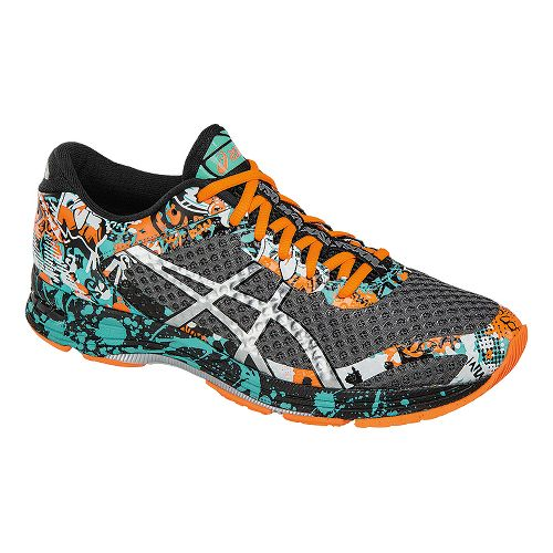 Mens ASICS GEL-Noosa Tri 11 Running Shoe - Grey/Orange 9.5