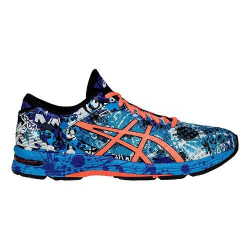 Mens ASICS GEL-Noosa Tri 11 Running Shoe - Blue/Coral 8.5