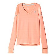 Womens adidas Infinite Series Long Sleeve Technical Tops