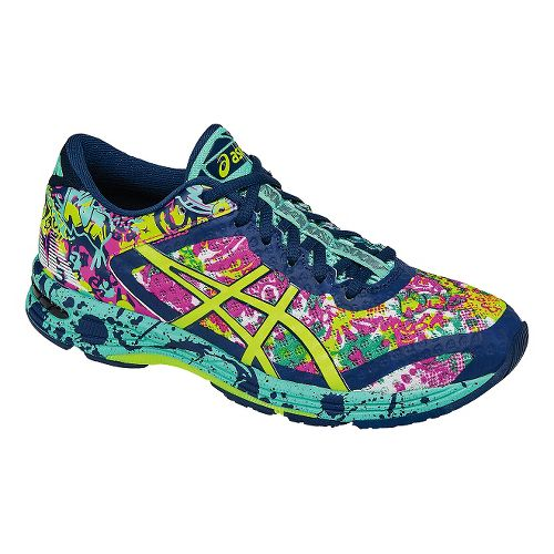 Womens ASICS GEL-Noosa Tri 11 Running Shoe - Green/Safety Yellow 5