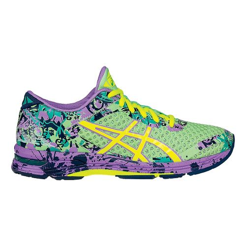 Womens ASICS GEL-Noosa Tri 11 Running Shoe - Mint/Violet 10.5