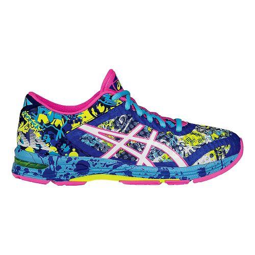 Womens ASICS GEL-Noosa Tri 11 Running Shoe - Blue/Pink 11