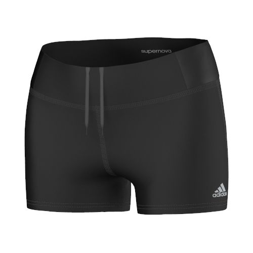 Womens adidas Supernova Booty Unlined Shorts - Black L