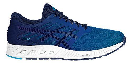 Mens ASICS fuzeX Running Shoe - Blue/Blue 13
