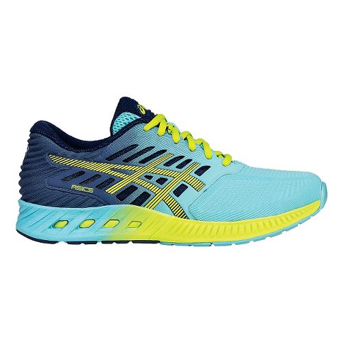 Womens ASICS fuzeX Running Shoe - Turquoise/Green 10.5