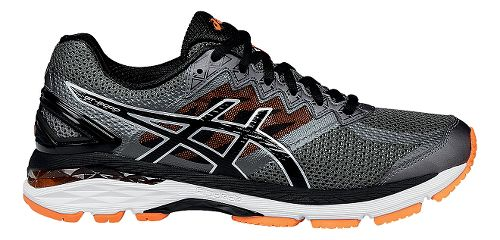 Mens ASICS GT-2000 4 Running Shoe - Grey/Black 12