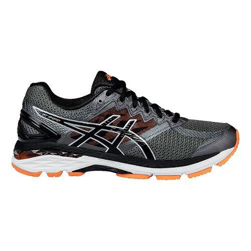 Mens ASICS GT-2000 4 Running Shoe - Grey/Black 12.5