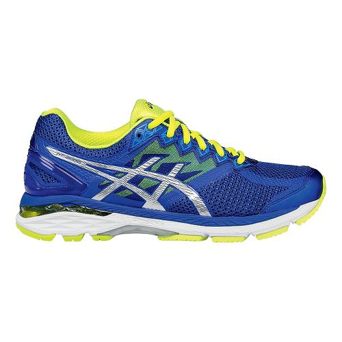 Mens ASICS GT-2000 4 Running Shoe - Blue/Yellow 13.5
