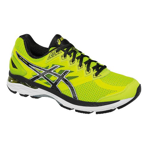 Mens ASICS GT-2000 4 Running Shoe - Safety Yellow/Black 9