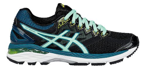 Womens ASICS GT-2000 4 Running Shoe - Silver/Turquoise 5
