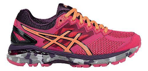 Womens ASICS GT-2000 4 Trail Running Shoe - Azalea/Melon 7