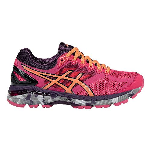 Womens ASICS GT-2000 4 Trail Running Shoe - Azalea/Melon 8.5