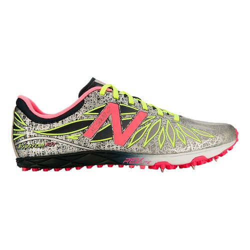 Womens New Balance XC5000v2 Cross Country Shoe - Black/Pink Zing 9