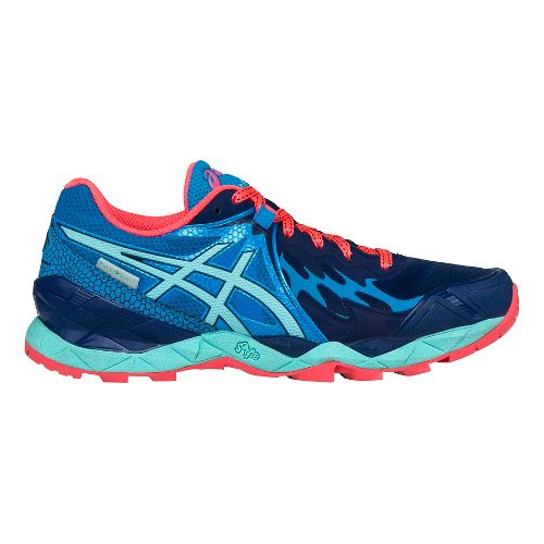 Womens ASICS GEL-FujiEndurance Trail Running Shoe - Indigo/Aqua 8.5
