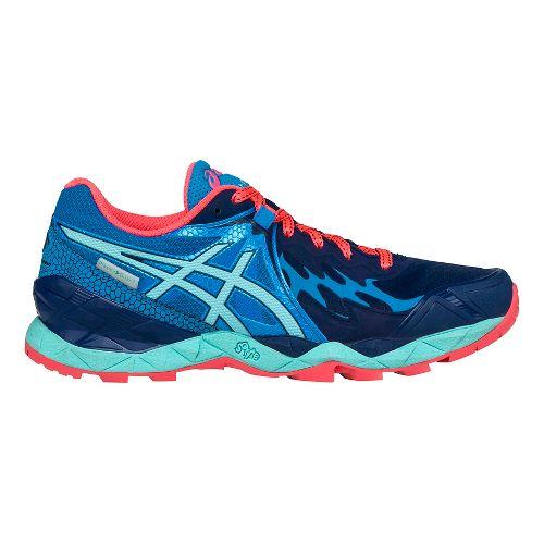 Womens ASICS GEL-FujiEndurance Trail Running Shoe - Indigo/Aqua 9.5