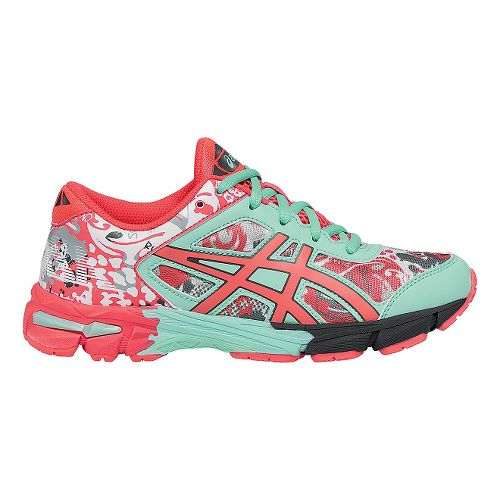 Kids ASICS GEL-Noosa Tri 11 Running Shoe - Pink/Mint 2Y