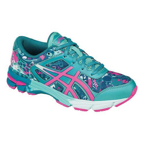 Kids ASICS GEL-Noosa Tri 11 Running Shoe - Blue/Pink 6.5Y