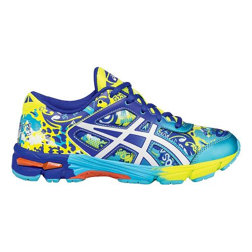 Kids ASICS GEL-Noosa Tri 11 Running Shoe - Yellow/Blue 1.5Y