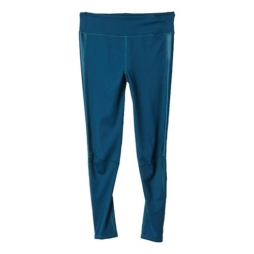 Womens adidas Supernova Long Tights & Leggings Pants - Utility Green L