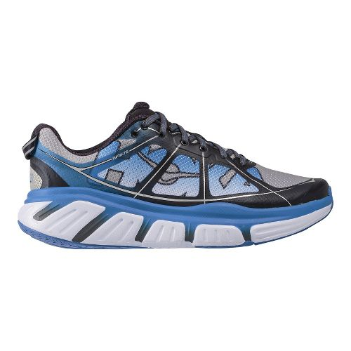 Mens Hoka One One Infinite Running Shoe - Blue/Blue 9