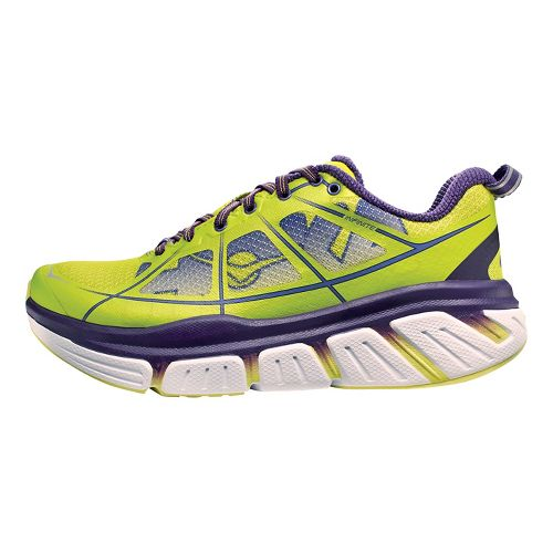 Womens Hoka One One Infinite Running Shoe - Acid/Purple 6