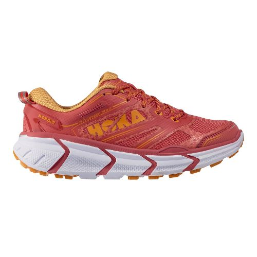 Womens Hoka One One Challenger ATR 2 Trail Running Shoe - Cayenne/Marigold 8
