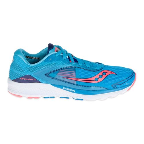 Womens Saucony Kinvara 7 Running Shoe - Blue/Navy 5.5