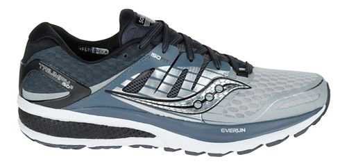 Mens Saucony Triumph ISO 2 Running Shoe - Grey/White 11.5
