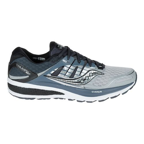 Mens Saucony Triumph ISO 2 Running Shoe - Grey/White 9.5
