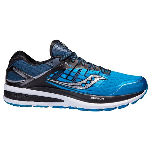 Mens Saucony Triumph ISO 2 Running Shoe - Black/Citron 8.5